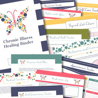 Chronic Illness Healing Binder