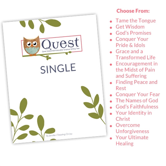 QUEST Single {Choose Single Topics}