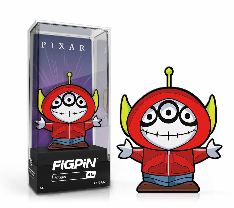 In Stock: FiGPiN Classic: Alien Remix - Alien Miguel #415 FREE US SHIPPING Spastic Pops