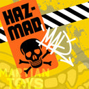 "IN STOCK MARTIAN TOYS Jeremy MadL x Martian Toys Mad Spraycan Mutant ""HazMAD"" Spastic Pops"