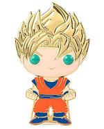 IN STOCK Pop! Pins: DBZ Dragon Ball Z Super Saiyan Goku FREE US SHIPPING Spastic Pops