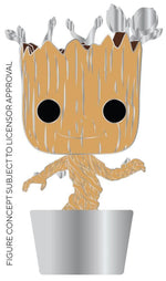 IN STOCK Pop! Pins: MARVEL Groot (Silver Leaves) CHASE Spastic Pops