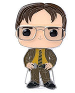 IN STOCK Pop! Pins: The Office Dwight Schrute FREE US SHIPPING Spastic Pops