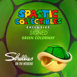 PREORDER (Expected Arrival Late MAY 2021) SHELLIES: LE75 Spastic Collectibles Exclusive Autographed Green Colorway [Shellies on the Weekend] Spastic Pops