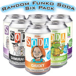 RANDOM 6-Pack of SEALED Soda Vinyls! Spastic Pops
