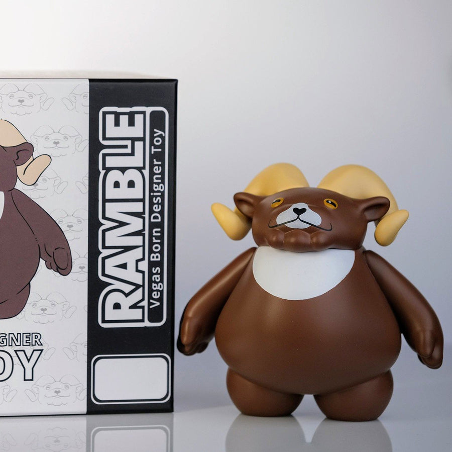 VANSER TOYS Ramble Founders Edition Vinyl Figure LE 200 FREE SHIPPING Spastic Pops