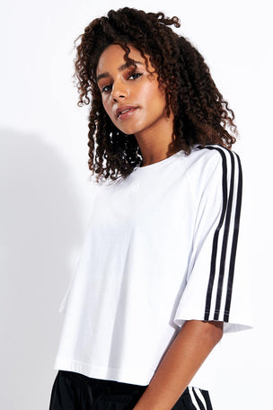 ADIDAS Sport ID Tee - White image 1 - The Sports Edit