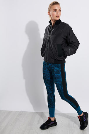adidas X Stella McCartney Athletics Light Padded Bomber Jacket - Black image 2 - The Sports Edit