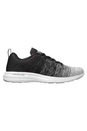APL Techloom Pro - White Heather Grey Black Melange | Women's image 1 - The Sports Edit