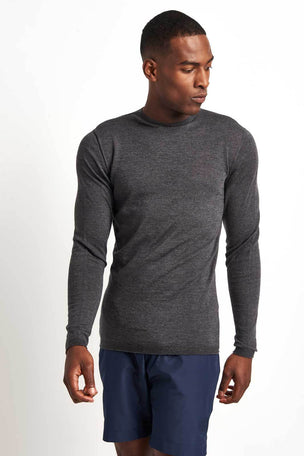 Iffley Road Dartmoor Running Base Layer Top - Grey image 1 - The Sports Edit