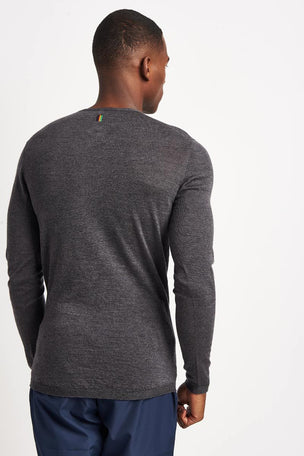 Iffley Road Dartmoor Running Base Layer Top - Grey image 2 - The Sports Edit