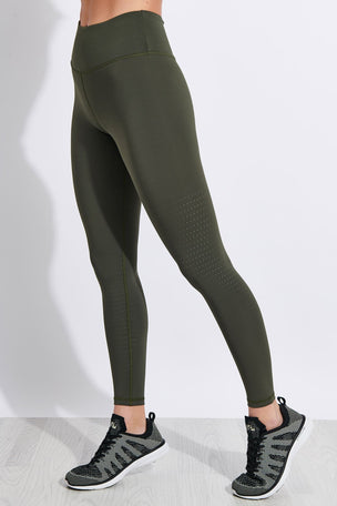 Lilybod Fleur-X High Waisted Full Length Leggings - Burnt Olive image 1 - The Sports Edit