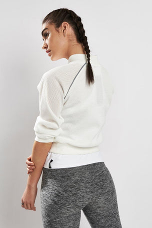 Michi Flash Jacket Ivory image 3 - The Sports Edit
