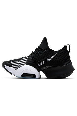 Nike Air Zoom SuperRep Shoes - Black/White/Anthracite | Women's image 2 - The Sports Edit