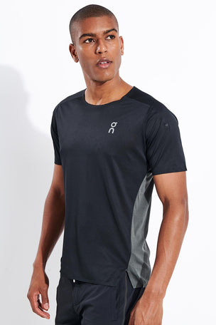 ON Running Performance-T - Black/Shadow image 1 - The Sports Edit