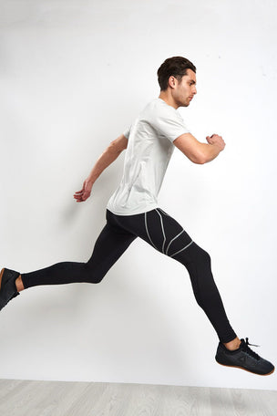 Reebok Running Tights - Black image 4 - The Sports Edit