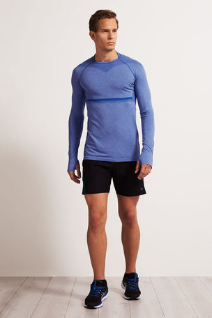 SALT Limitless Long Sleeve Tee Dazzling Blue image 4 - The Sports Edit