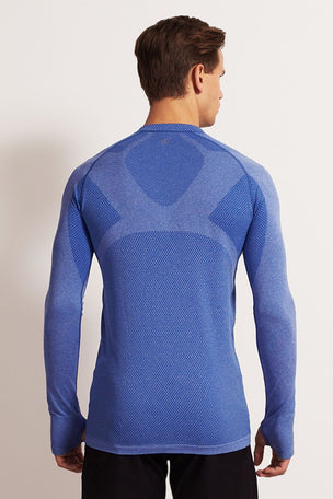 SALT Limitless Long Sleeve Tee Dazzling Blue image 2 - The Sports Edit