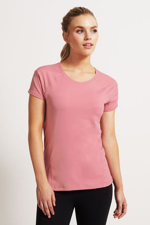 SALT Ultimate Workout Tee Pink Blush image 1 - The Sports Edit