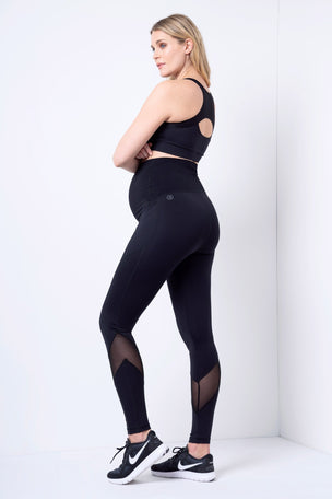 Seraphine Allie Legging - Black image 3 - The Sports Edit