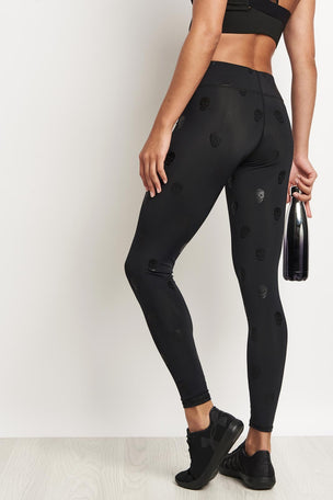 Terez Skull Star Power Leggings image 2 - The Sports Edit