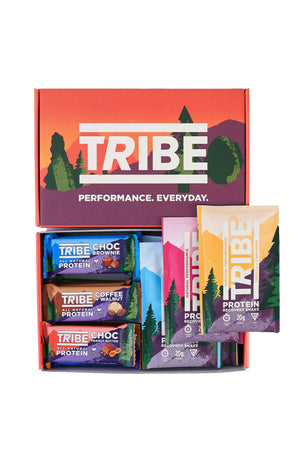 Tribe Mixed Protein Bars And Shake Pack image 1 - The Sports Edit