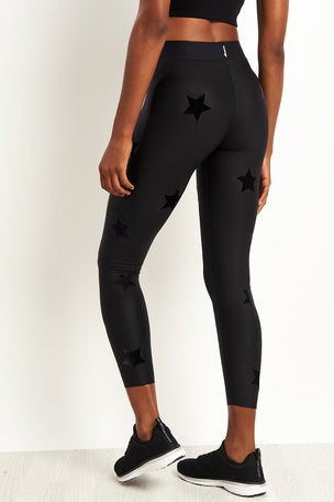 Ultracor Ultra Velvet Star Knockout Leggings - Nero image 2 - The Sports Edit