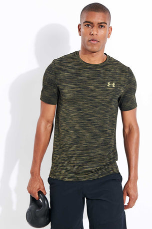 Under Armour Vanish Seamless Short Sleeve - Baroque Green image 1 - The Sports Edit