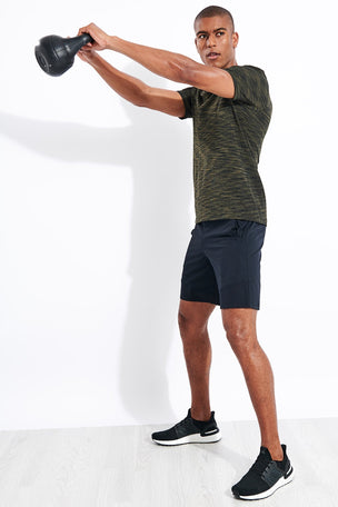 Under Armour Vanish Seamless Short Sleeve - Baroque Green image 2 - The Sports Edit