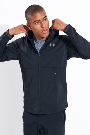 Under Armour Vanish Woven Jacket - Black image 1 - The Sports Edit