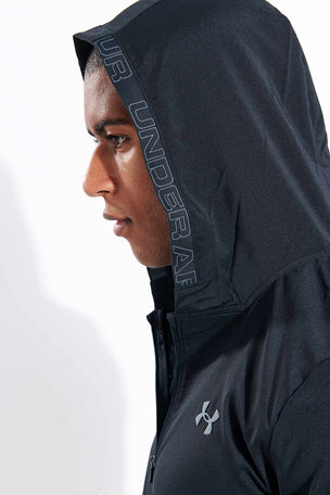 Under Armour Vanish Woven Jacket - Black image 4 - The Sports Edit