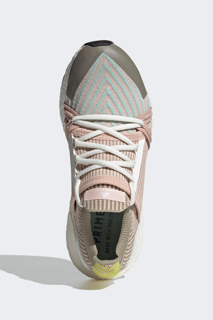 adidas X Stella McCartney Ultraboost 20 Shoes - Pearl Rose/Ash Green/Tech Beige image 5 - The Sports Edit