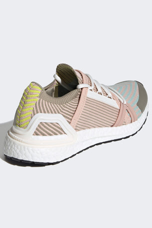adidas X Stella McCartney Ultraboost 20 Shoes - Pearl Rose/Ash Green/Tech Beige image 4 - The Sports Edit