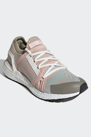 adidas X Stella McCartney Ultraboost 20 Shoes - Pearl Rose/Ash Green/Tech Beige image 3 - The Sports Edit