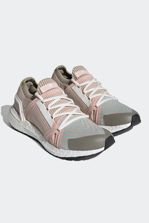 adidas X Stella McCartney Ultraboost 20 Shoes - Pearl Rose/Ash Green/Tech Beige image 7 - The Sports Edit