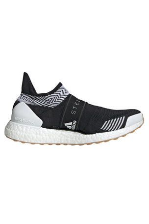 adidas X Stella McCartney Ultraboost X 3D Knit Shoes - Black/White image 1 - The Sports Edit
