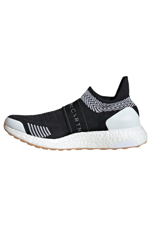 adidas X Stella McCartney Ultraboost X 3D Knit Shoes - Black/White image 2 - The Sports Edit