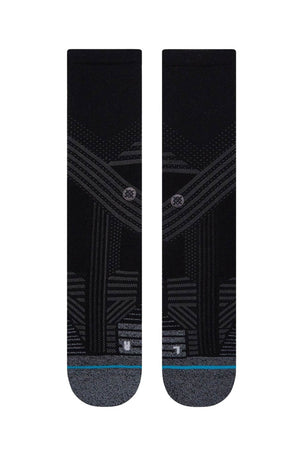 Stance Athletic Crew - Black image 2 - The Sports Edit