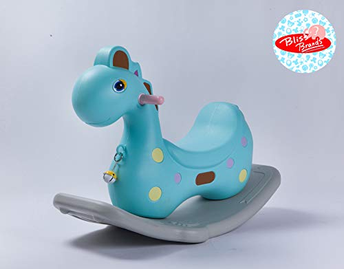 Baby Rocking (Dinosaur) - Rocking Toy Ride for Kids & Toddlers - Bliss Brands