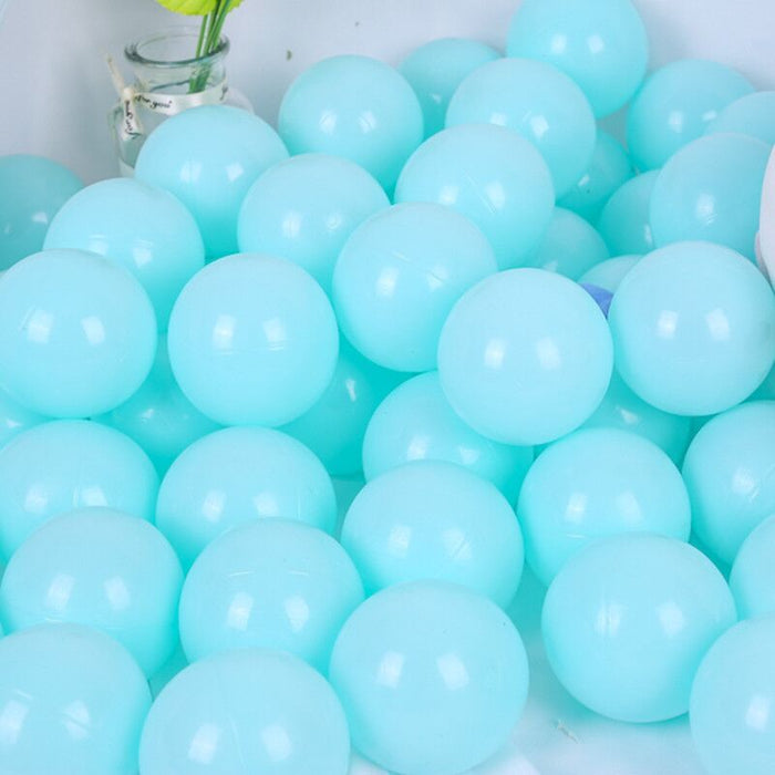 Baby Soft Plastic Play Balls, 100 or 200 Piece Single Color Set - Bliss Brands
