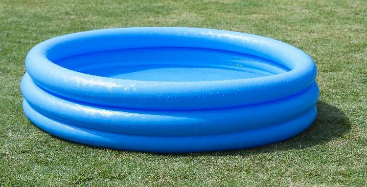 "Blue Inflatable Pool, 57.8x 13"" - Bliss Brands"