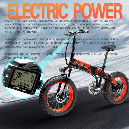 Bliss Brands Electric Bicycle X2000 Plus - Bliss Brands