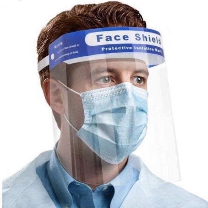 "1 Reusable Safety Face Shield (13""x 8.75"") $2.00 each - Bliss Brands"