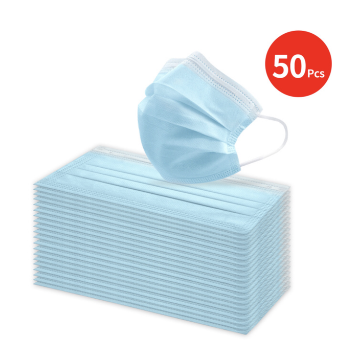 15 (50pk) Boxes of Disposable 3PLY Face Masks. $0.07 each. *Free Shipping* - Bliss Brands