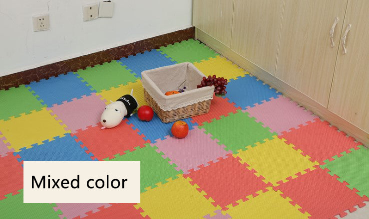 Puzzle Play Mats, Soft Foam Interlocking Floor Mats for Baby Playpens, Childrens Rooms, Daycare - Bliss Brands