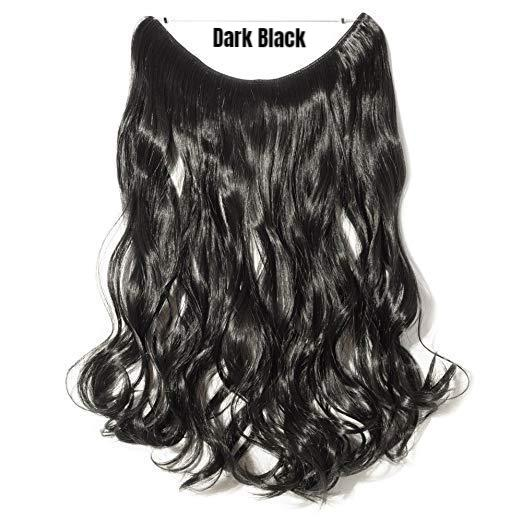 No-Clips Hair Extensions for Curly Hair