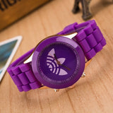 New Fashion Unisex Sports Silicone Watch