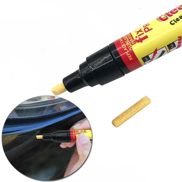 Car Scratch Remover Clear Coat Applicator Pen