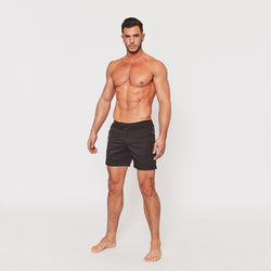 Tailored Swim Shorts in Black