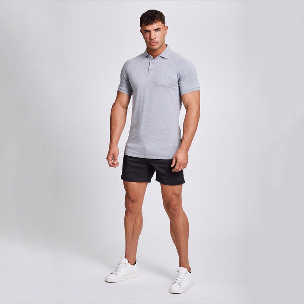 Polo Shirt in Grey